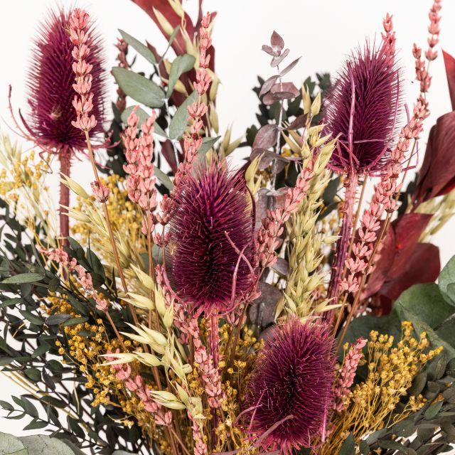 Enviar ramo de flores secas con cardo