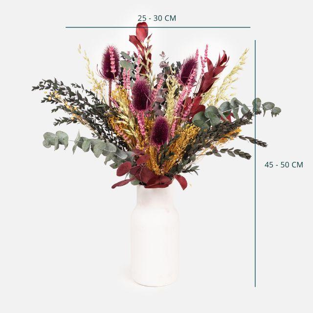 Comprar ramo de flores secas con cardo