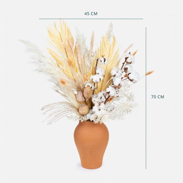 Comprar ramo flores secas algodão