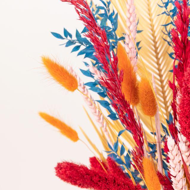 Enviar ramo flores secas y hojas de palmera