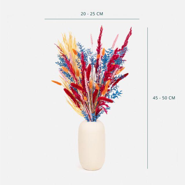 Comprar ramo flores secas e folhas de palmeira