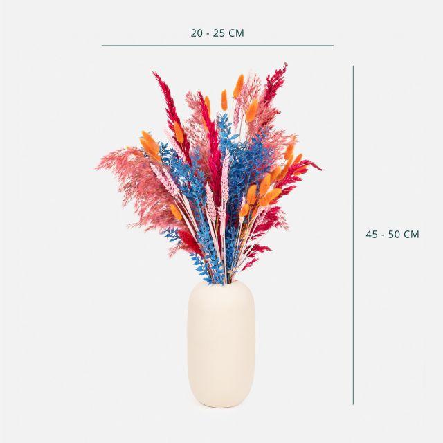 Comprare bouquet di fiori secchi con pampas