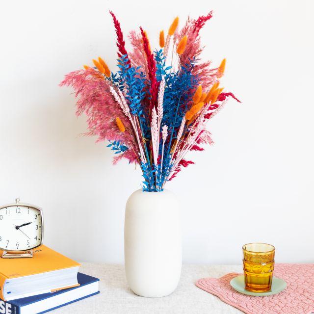 Inviare fiori secchi bouquet erba di pampa online