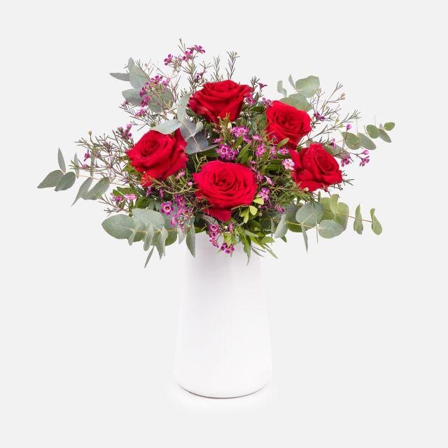 Mazzo di Fiori di Rose Rosse - Fiori UNCONDITIONAL - Fiori a domicilio - Colvin
