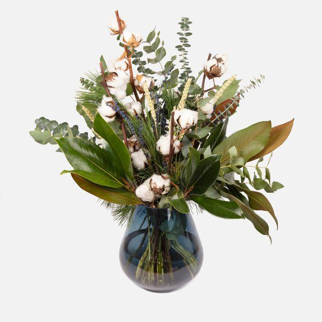 Enviar a domicilio ramo de flores White Cotton