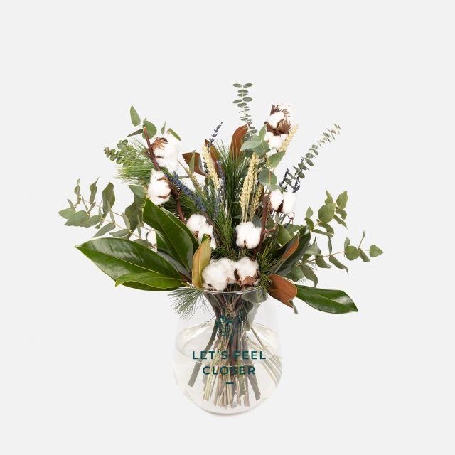 Ramo de flores White Cotton