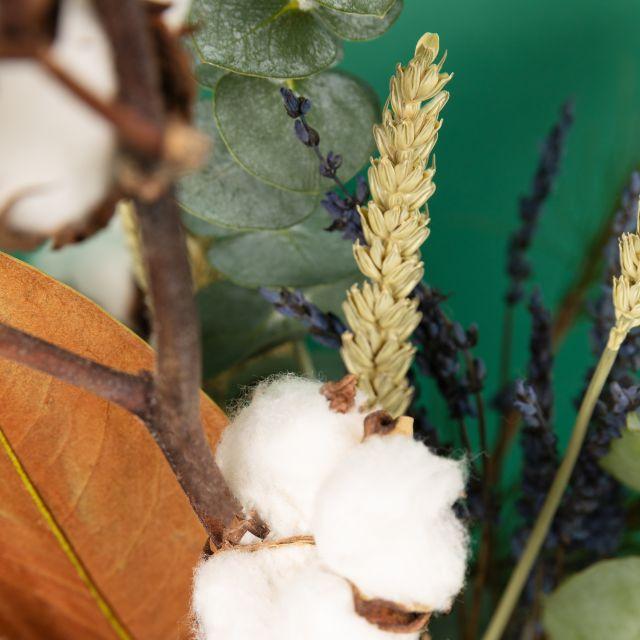 Envío online de ramo de flores White Cotton
